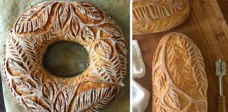 Zdobenie chleba | Táto pekárka povýšila narezávanie chleba na umenie