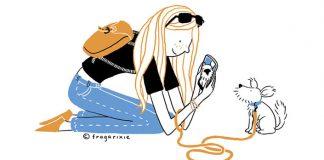 Trefné ilustrácie ukazujú, ako vyzerá náš život s modernými technológiami