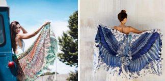 Handmade šatky, ktoré vám dajú krídla | Shovava - šatky s vtáčími motívmi